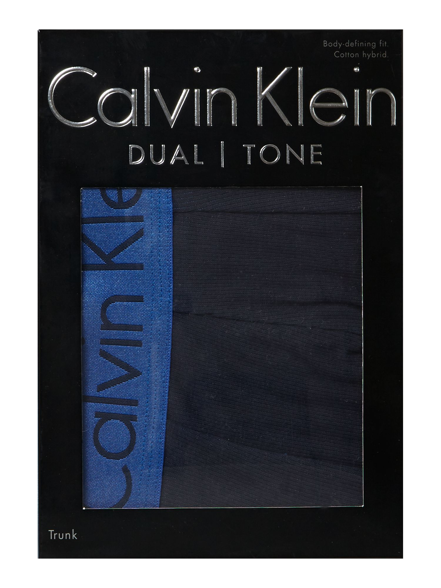 Dual tone ribbed trunk