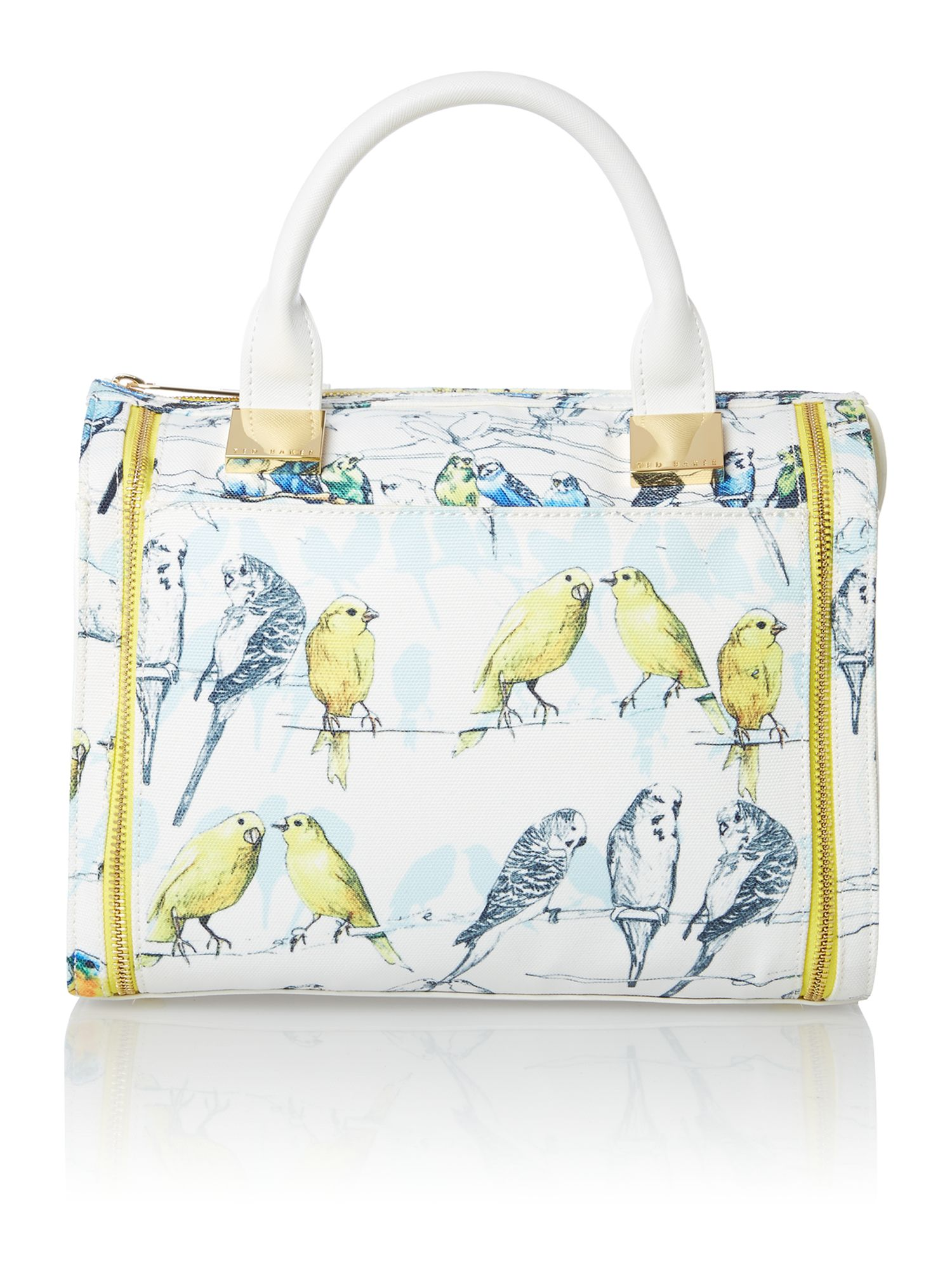 Blue medium bird bowling bag