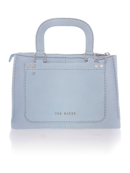 Ted Baker Blue natural kingdon tote bag