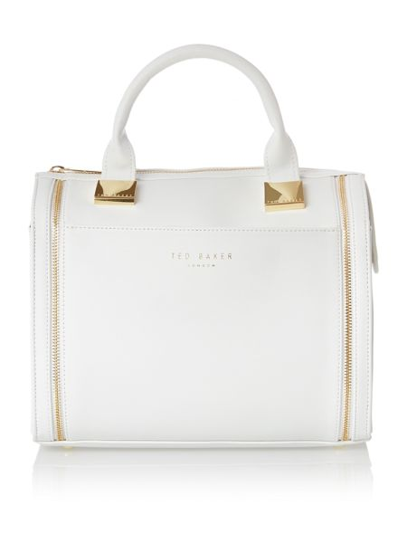 Ted Baker White large tote bag