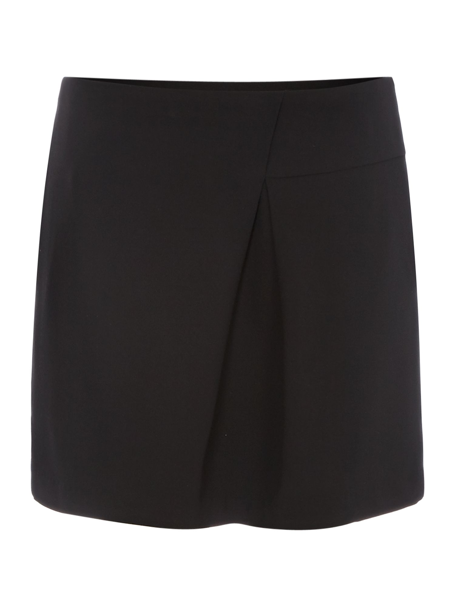 Crepe Tuck Detail Skirt