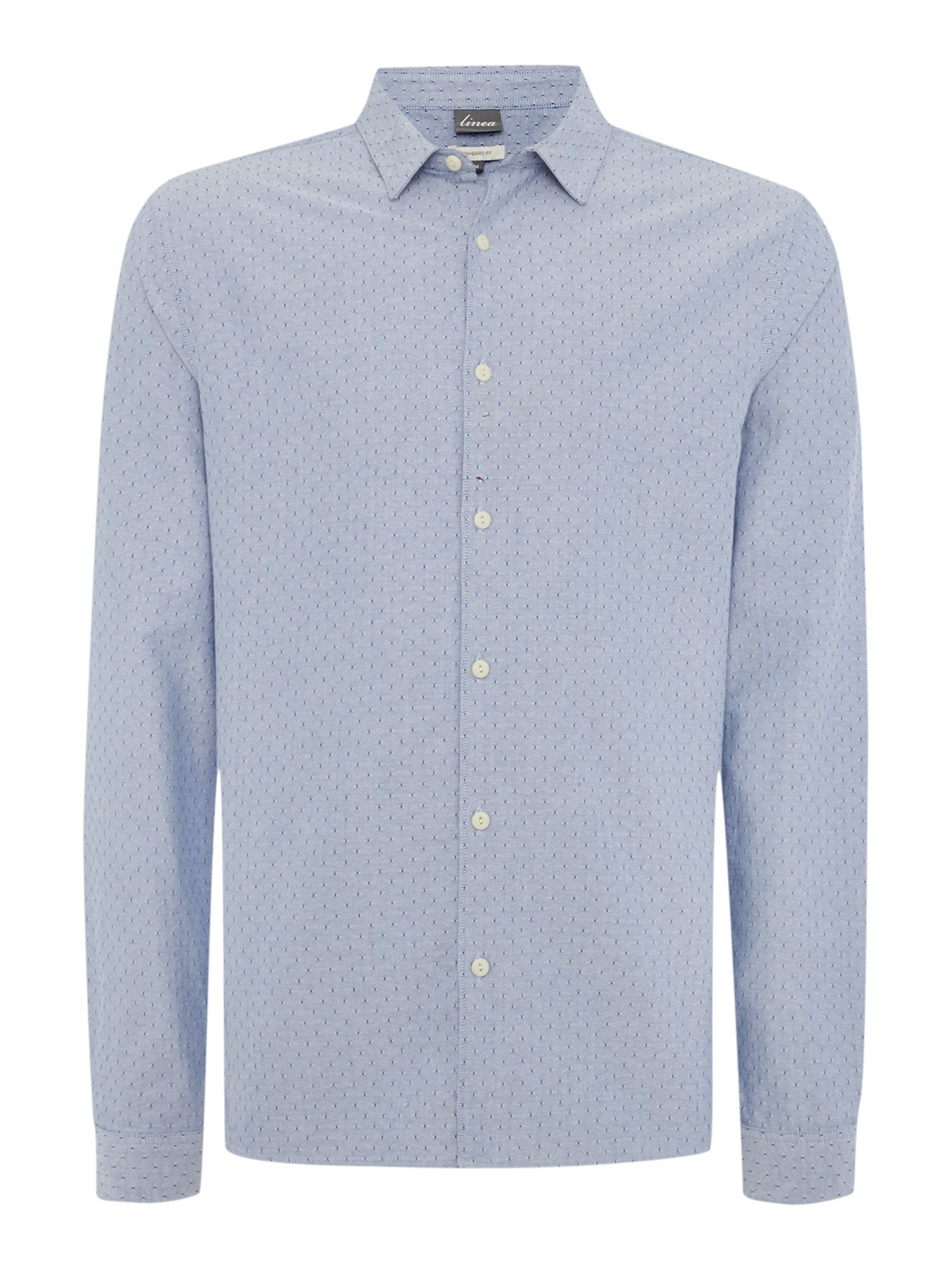 Curbar dobby oxford long sleeved shirt