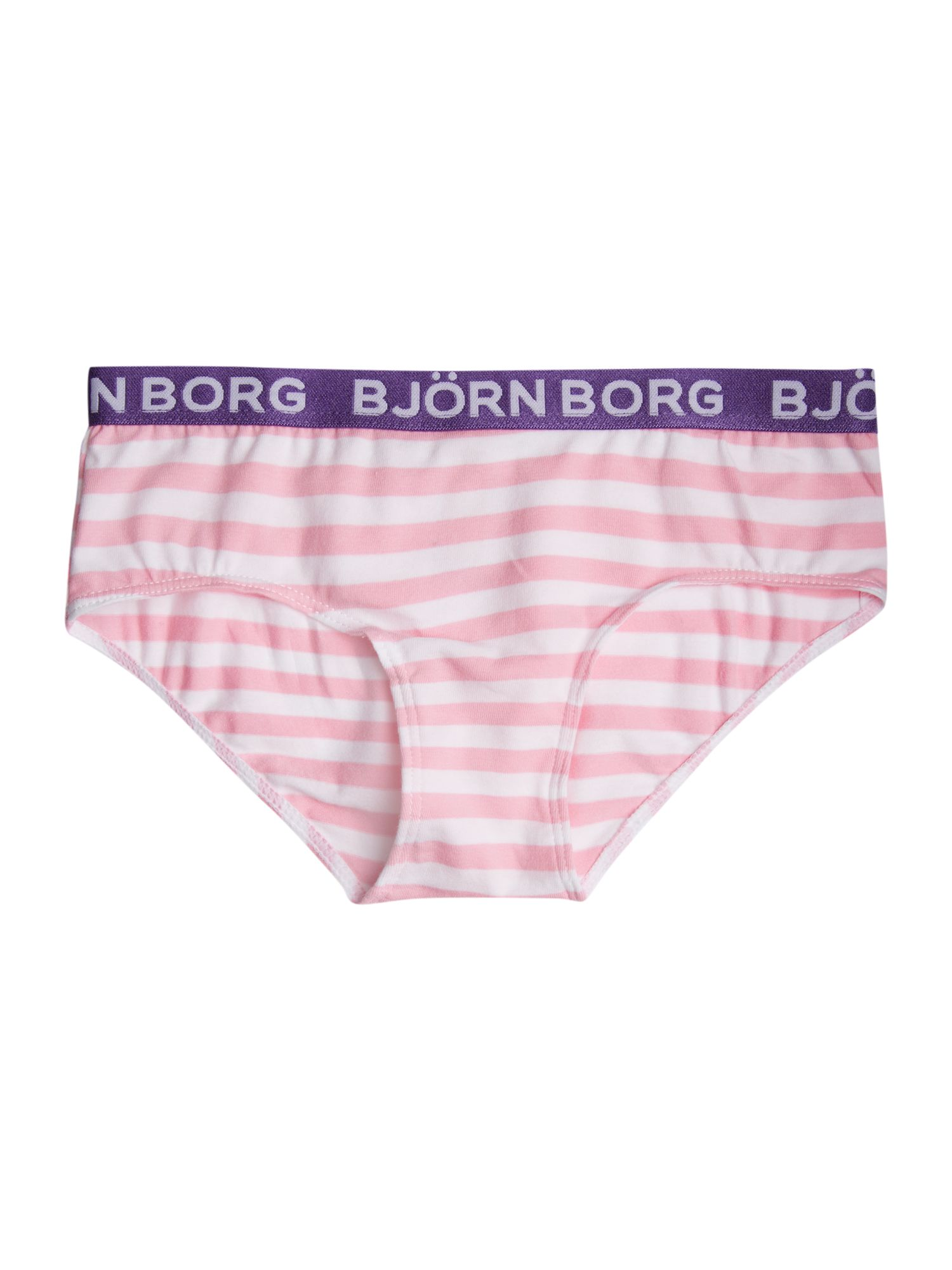 Girls thin stripe briefs