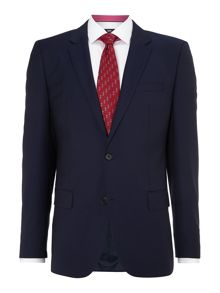 Huge Genius slim fit solid suit
