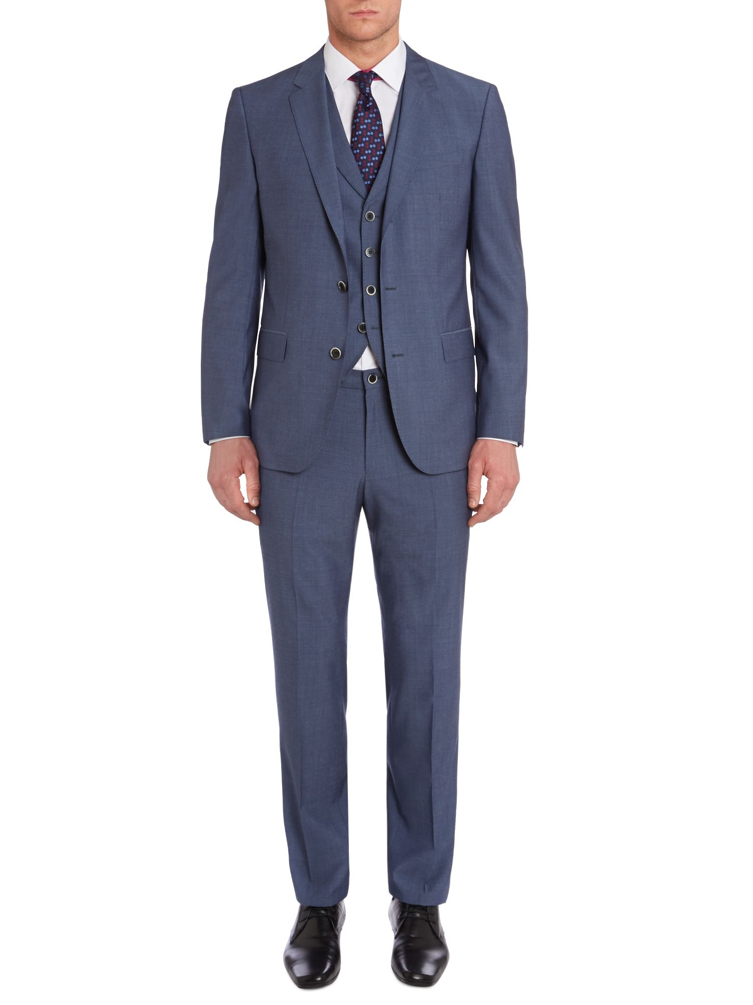 Hendry Fly three piece suit with lapel waistcoat