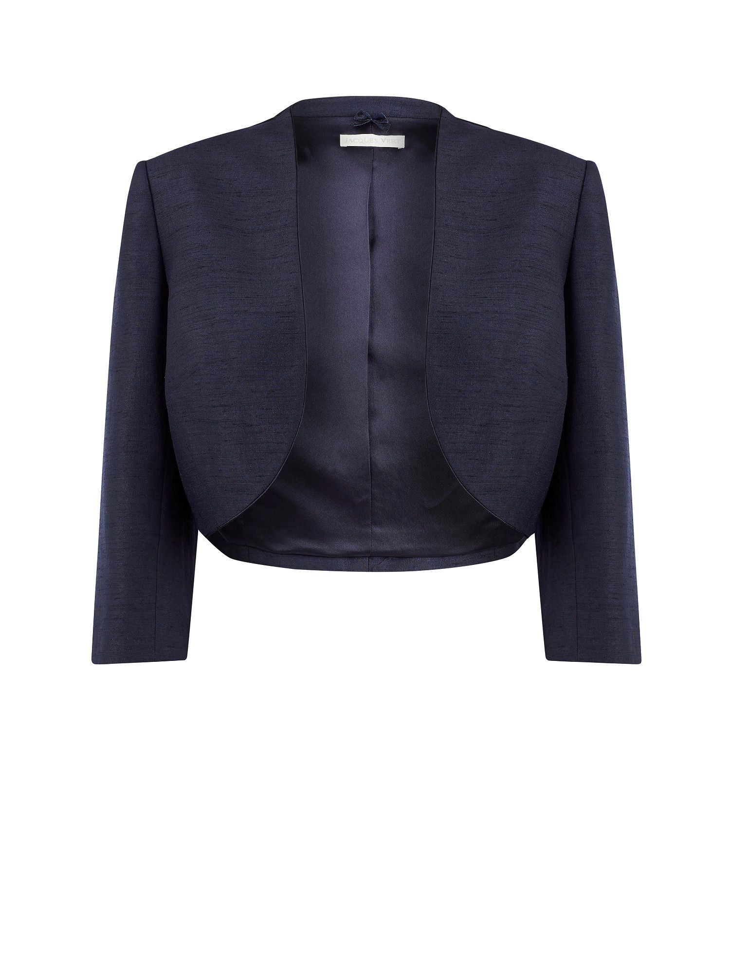 Navy edge to edge bolero