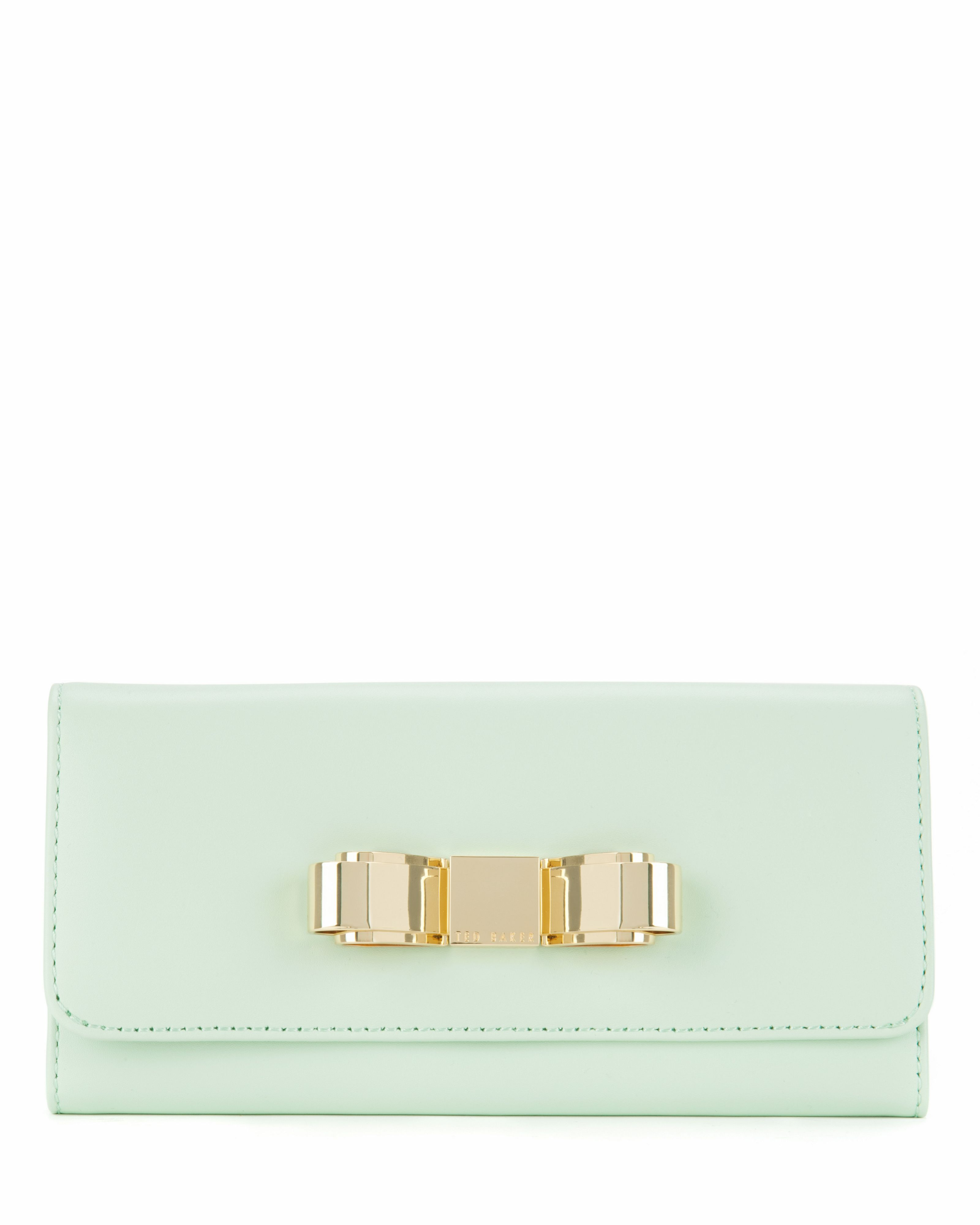 Bestuck slim bow matinee purse