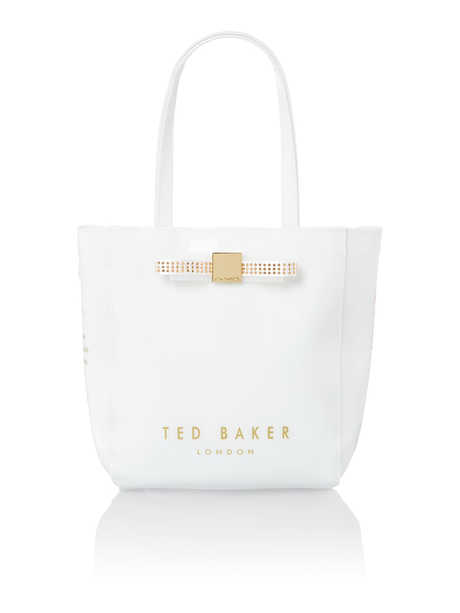 White small tote bag