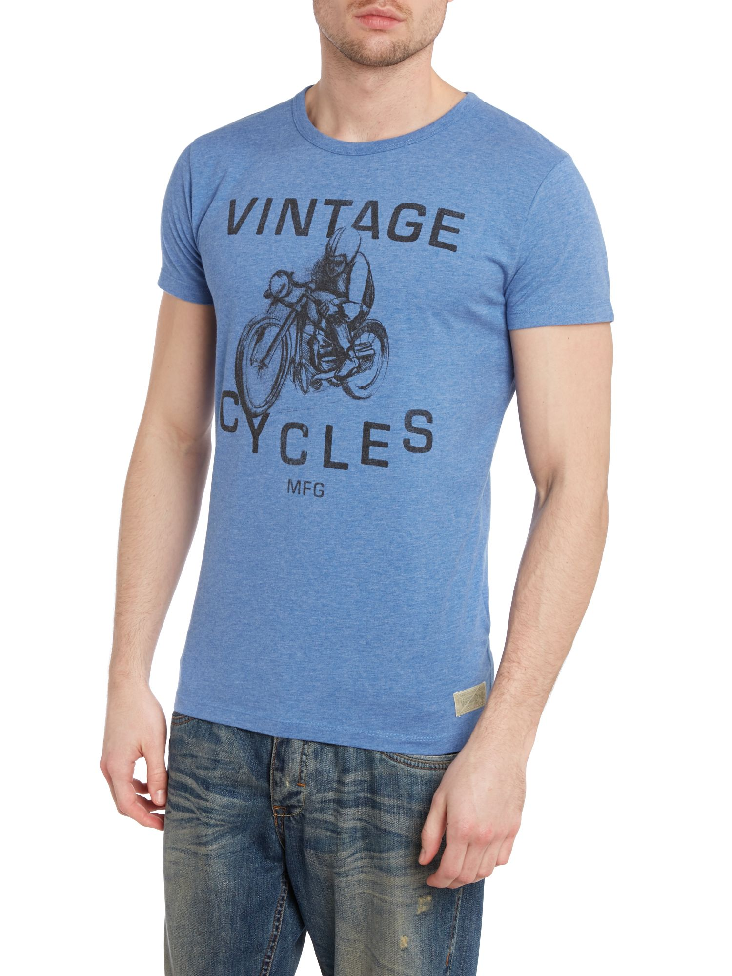 Vintage cycles graphic t-shirt