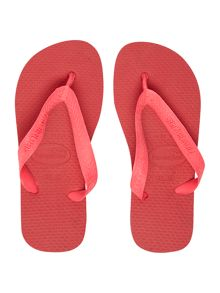Girls Top neon flip flop