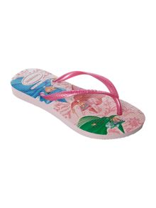Girls Sleeping Beauty flip flop