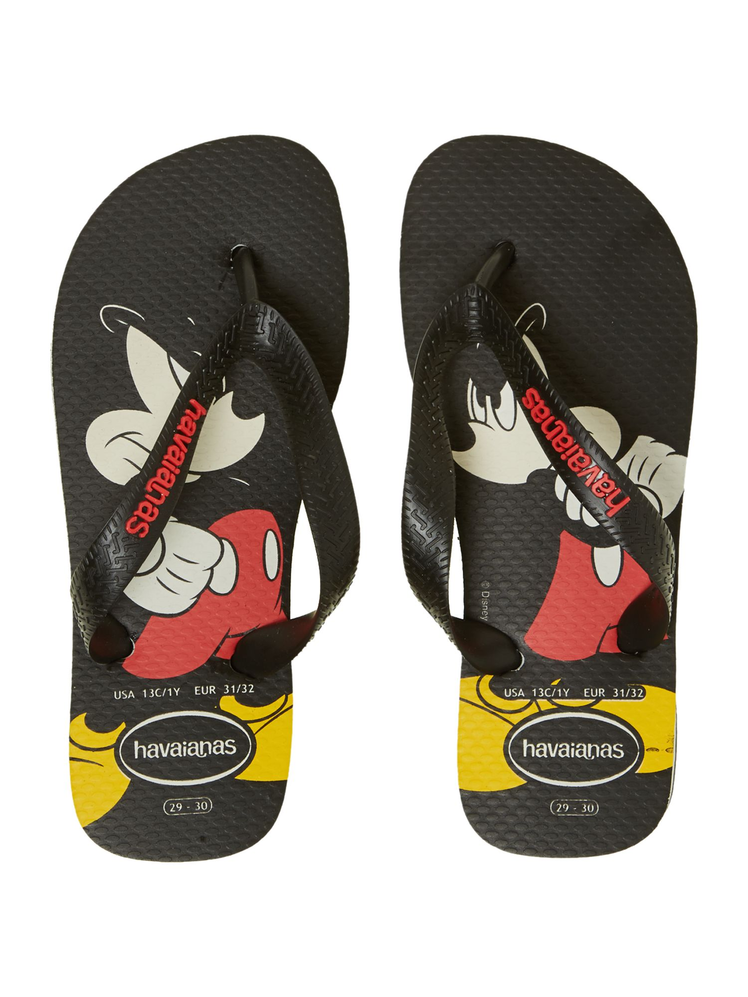 Boys Mickey Mouse flip flop