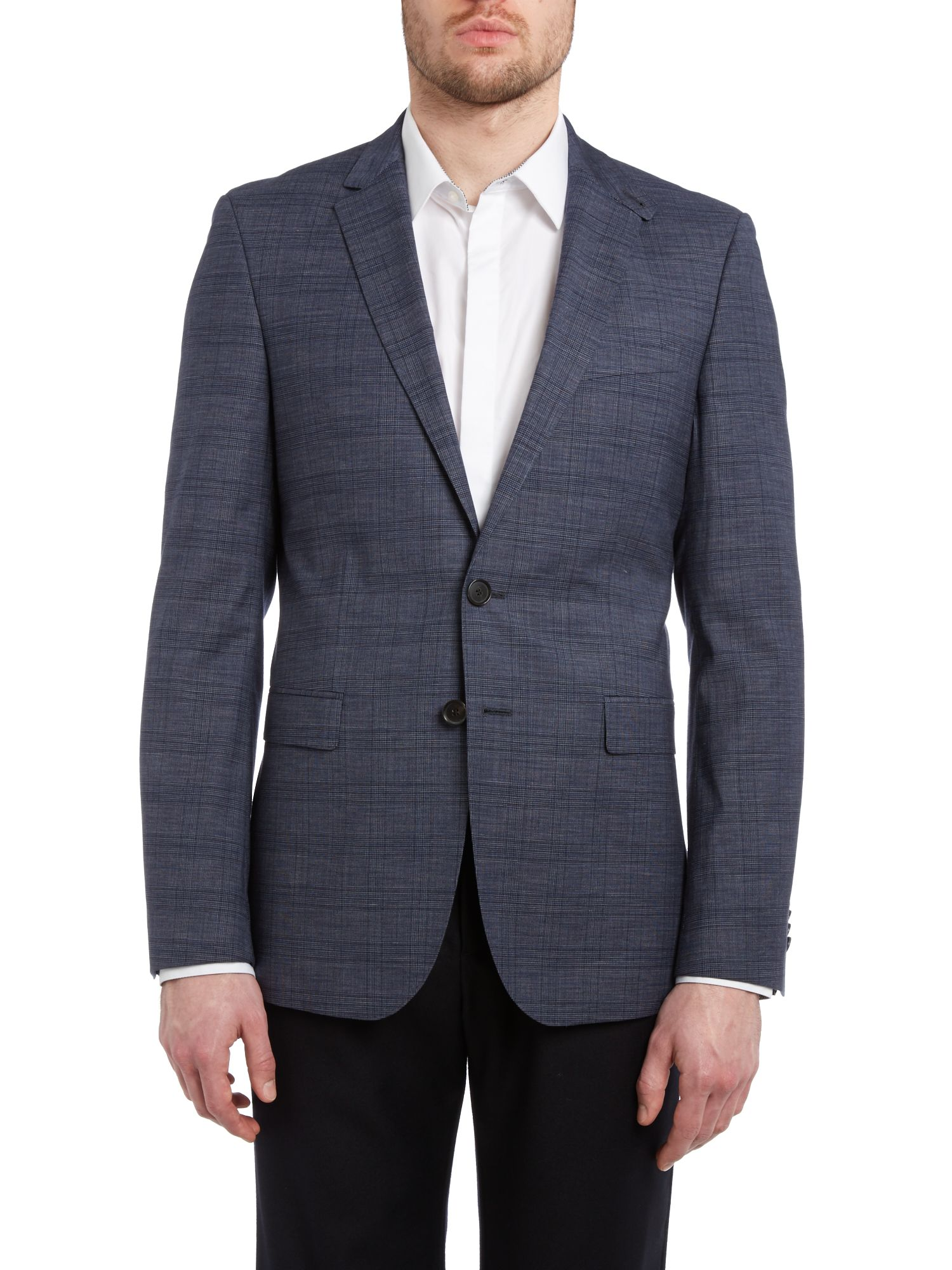 Rhett extra slim Prince of Wales check jacket