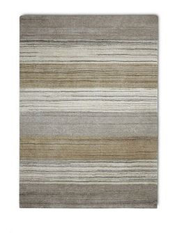Simply Natural 100% Wool Rug - 120x180 Stripe