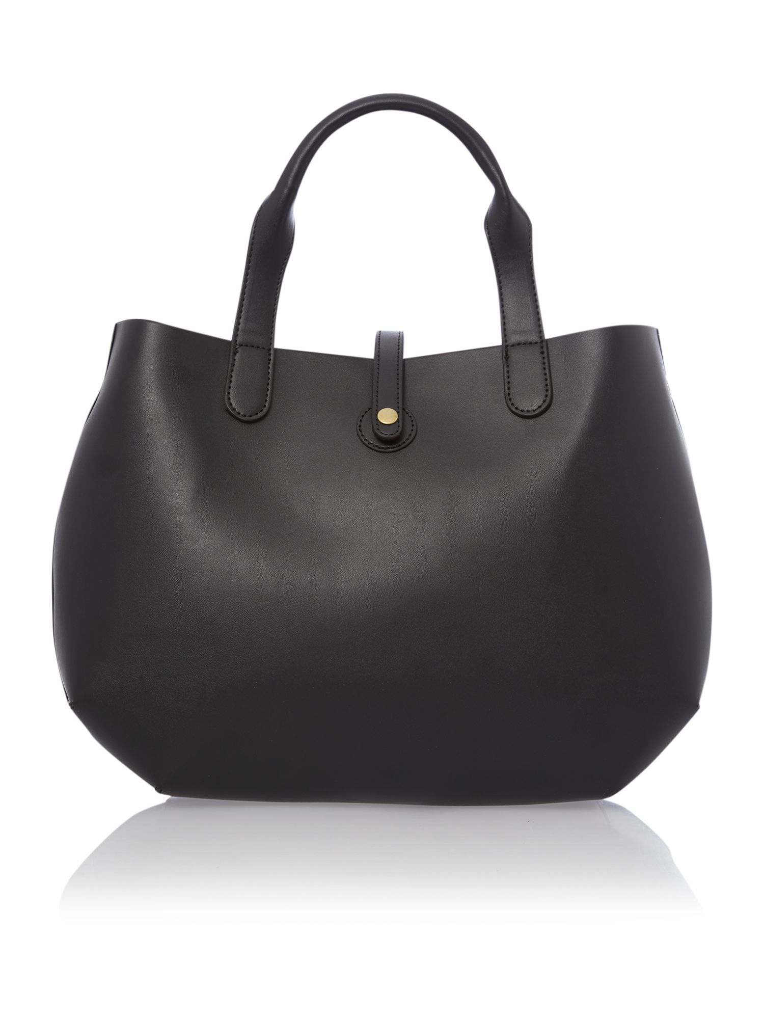 April black tote bag