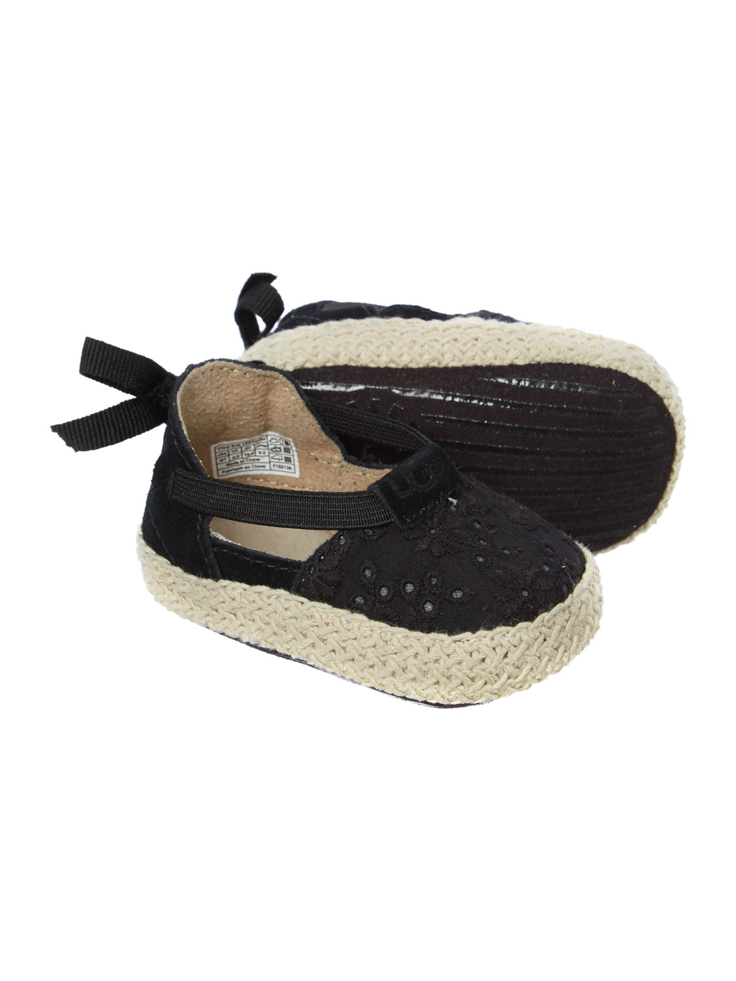 Baby embroidered espadrilles