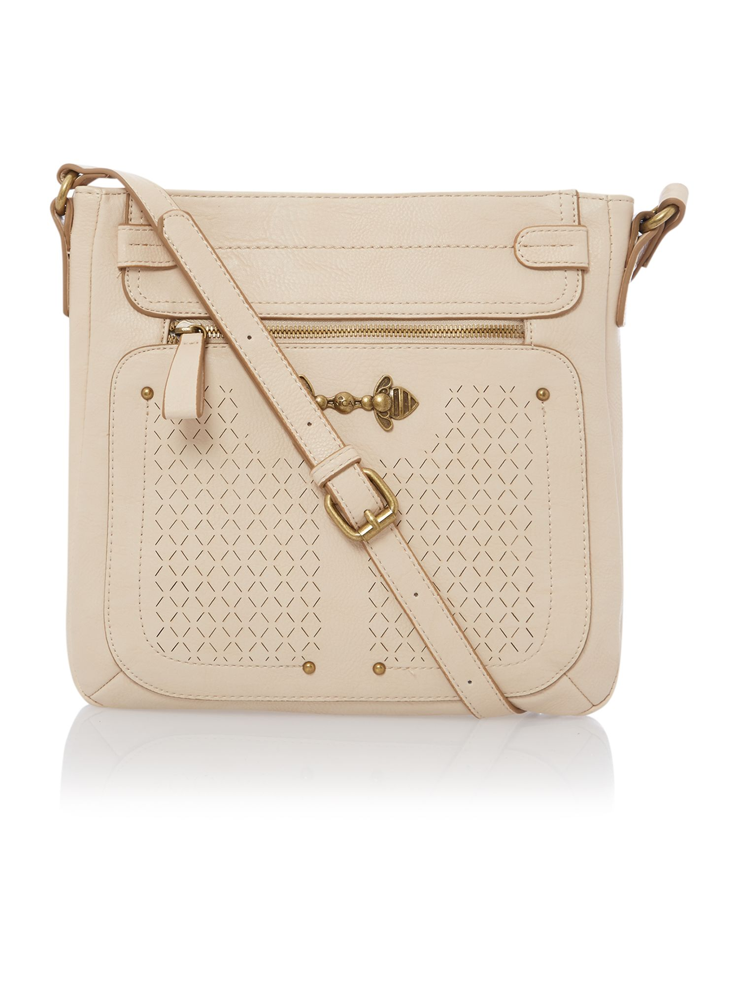 Judy neutral cross body bag