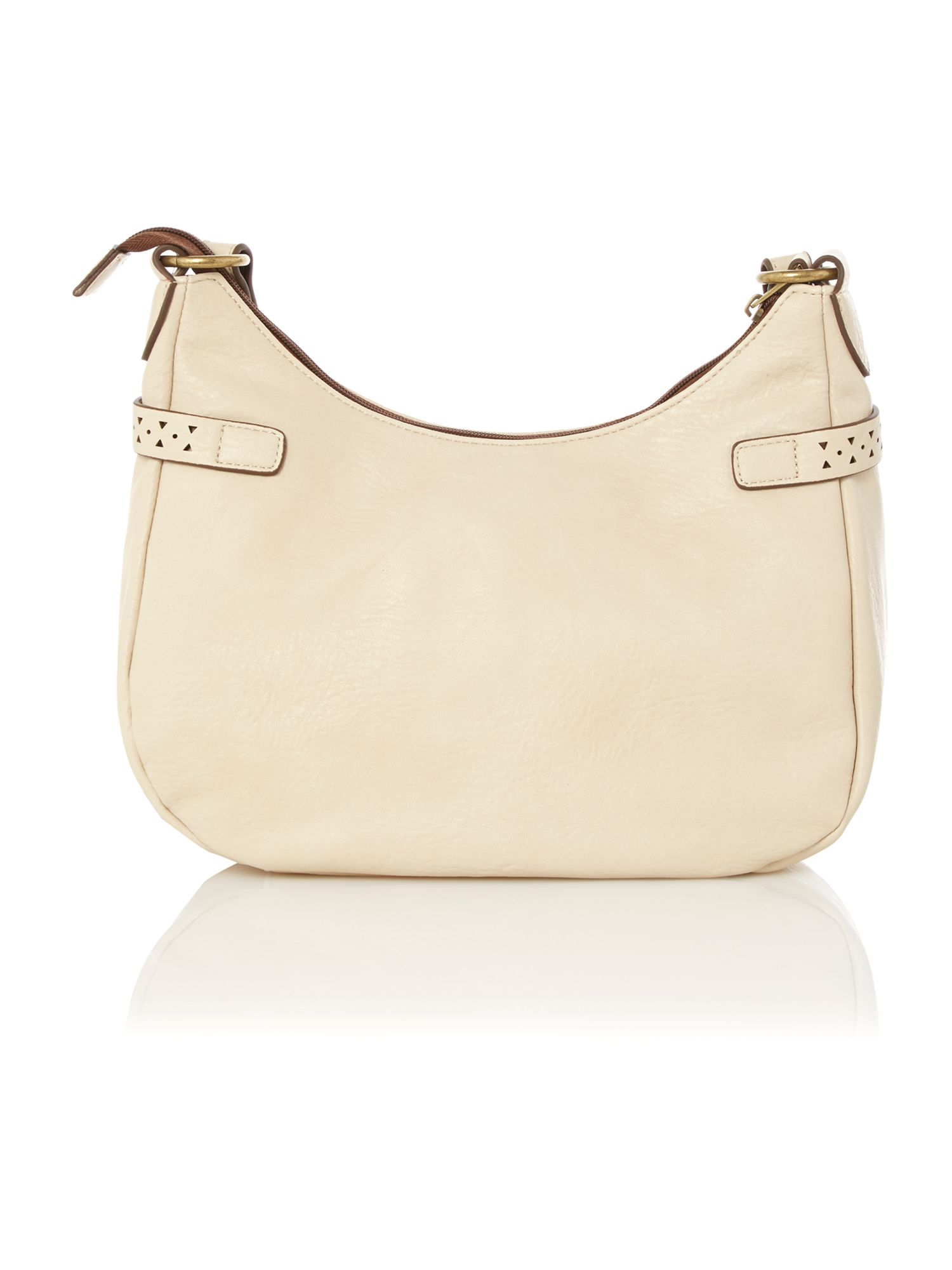 Linda neutral cross body bag