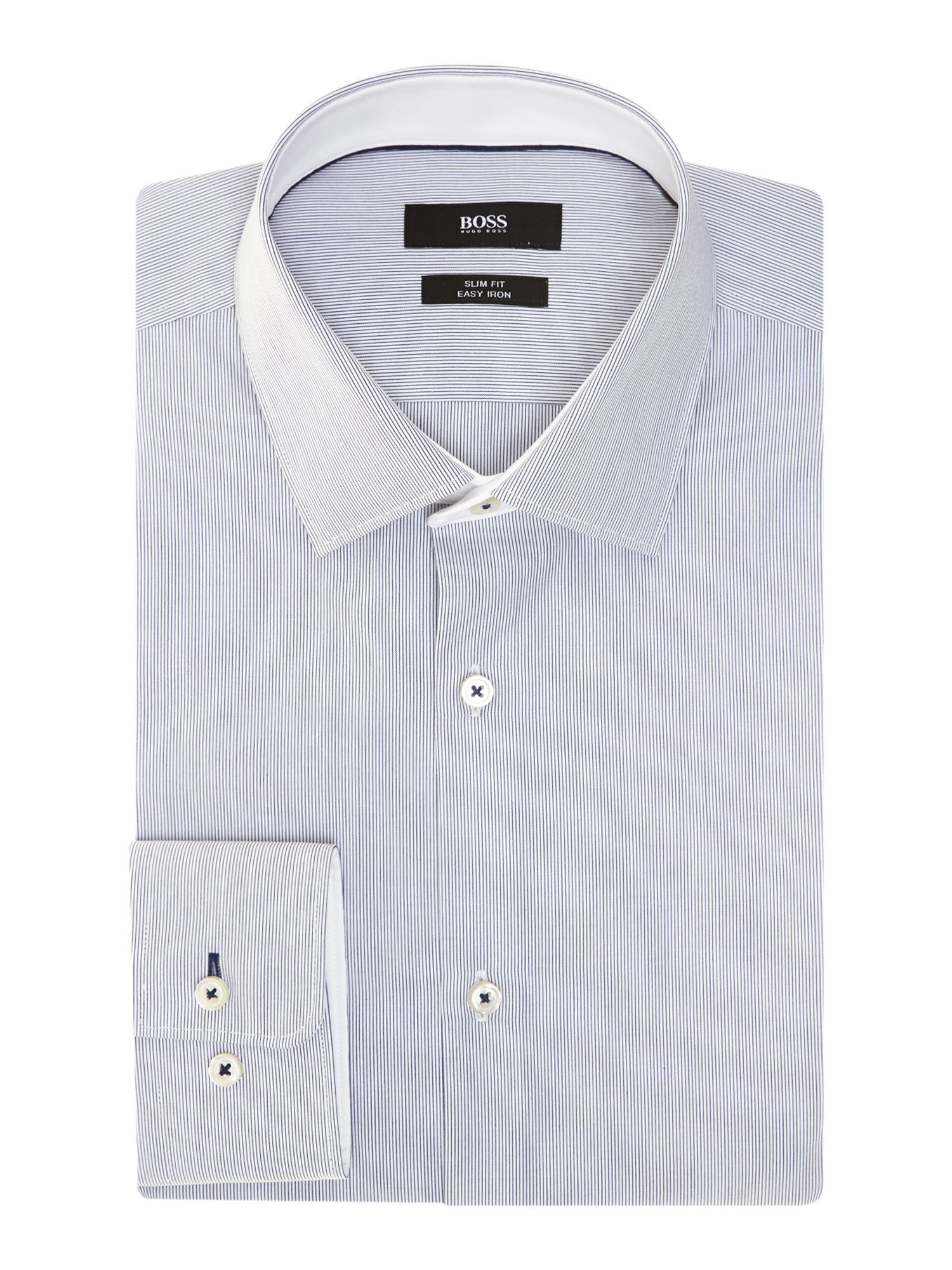 Juri slim fit fine stripe shirt
