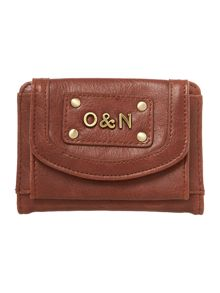 Georgina tan small flap over purse