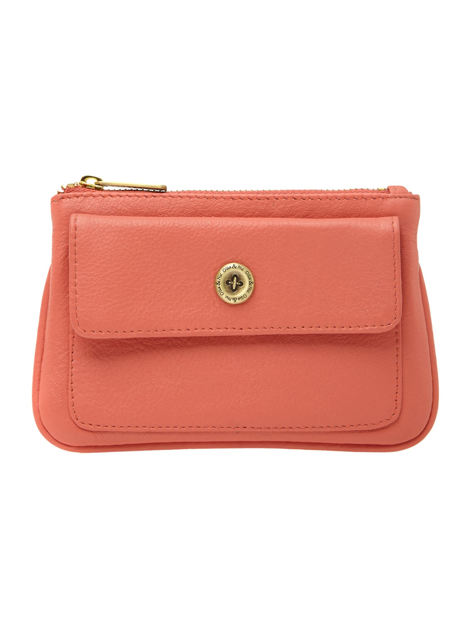 Cara coral coin purse