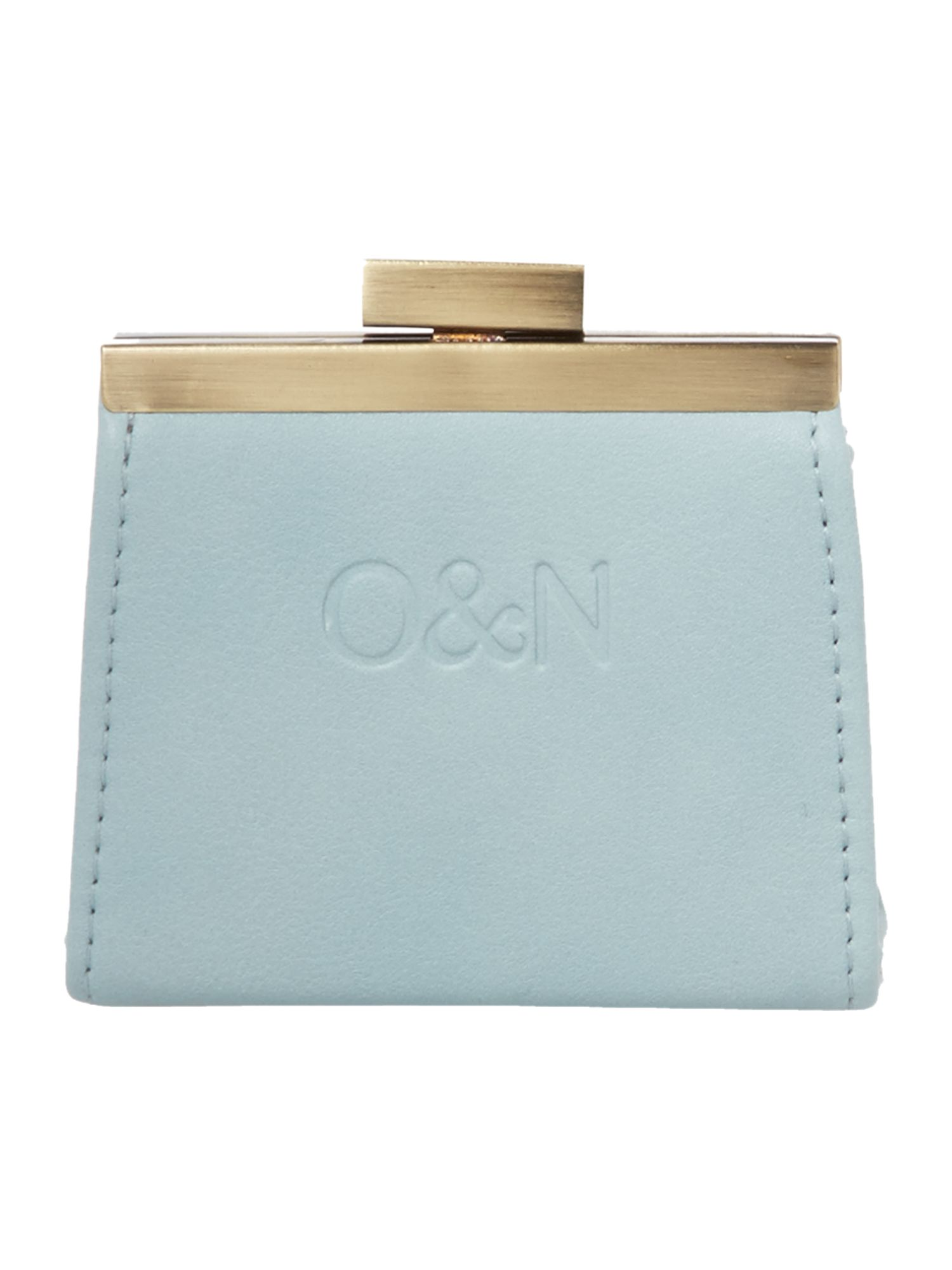 Gretal blue frame purse