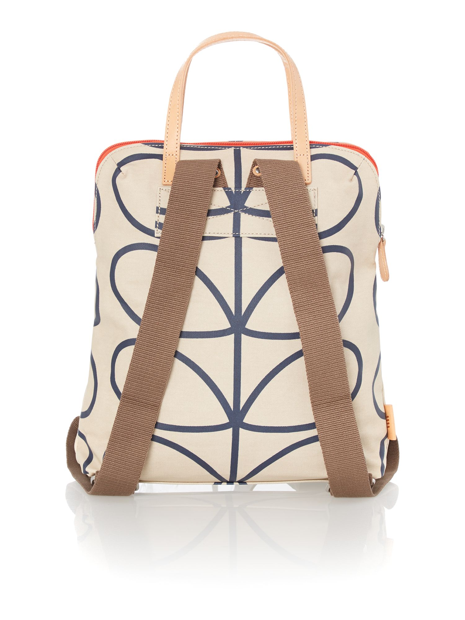 Stem print neutral backpack