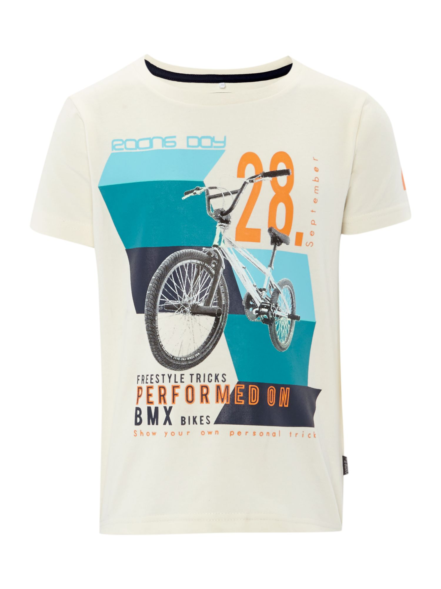 Boy BMX graphic t-shirt