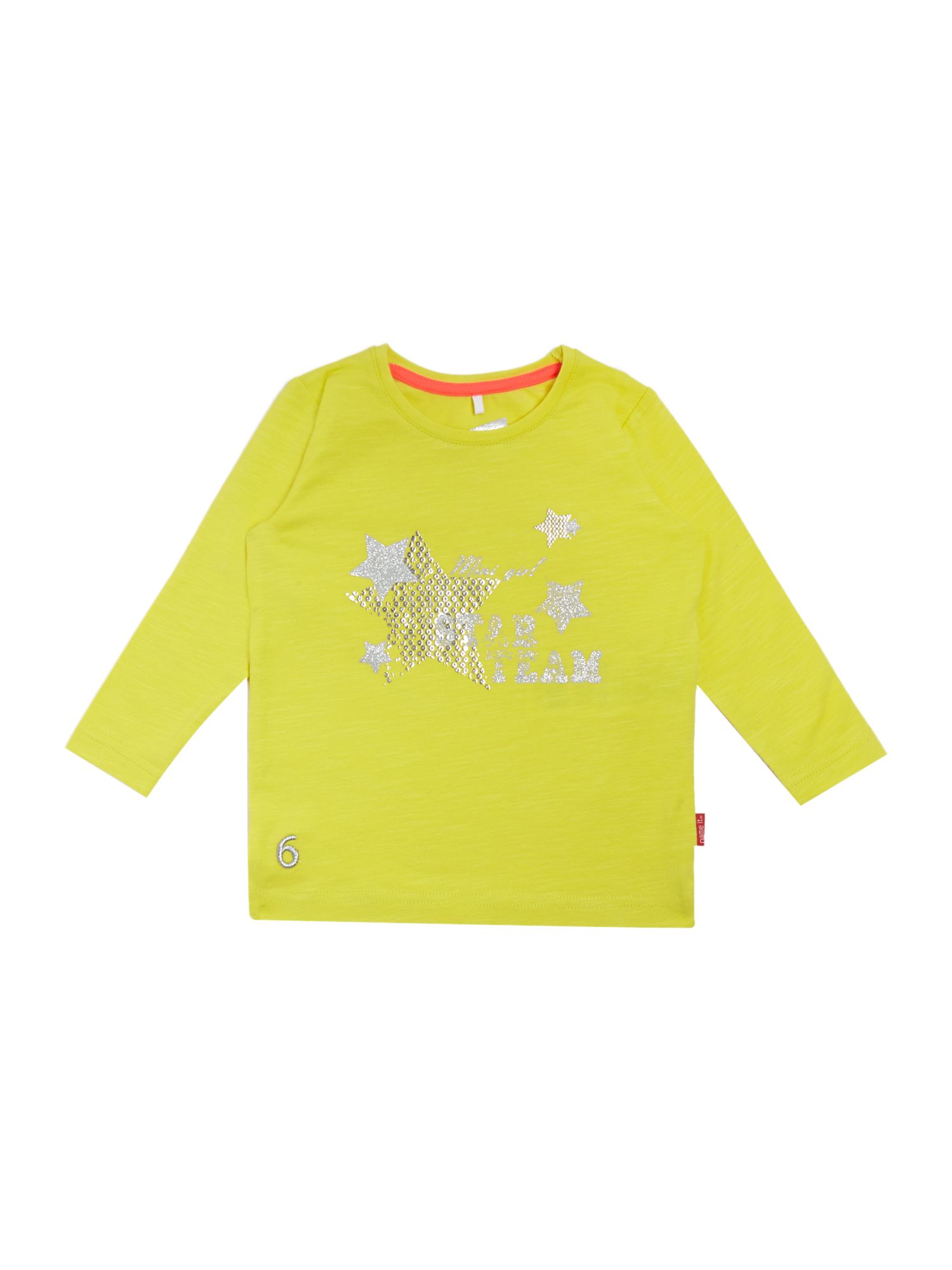 Girls star print t-shirt