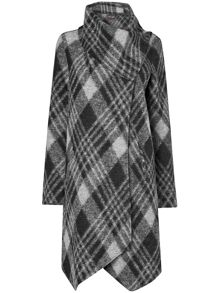 Bellona check coat