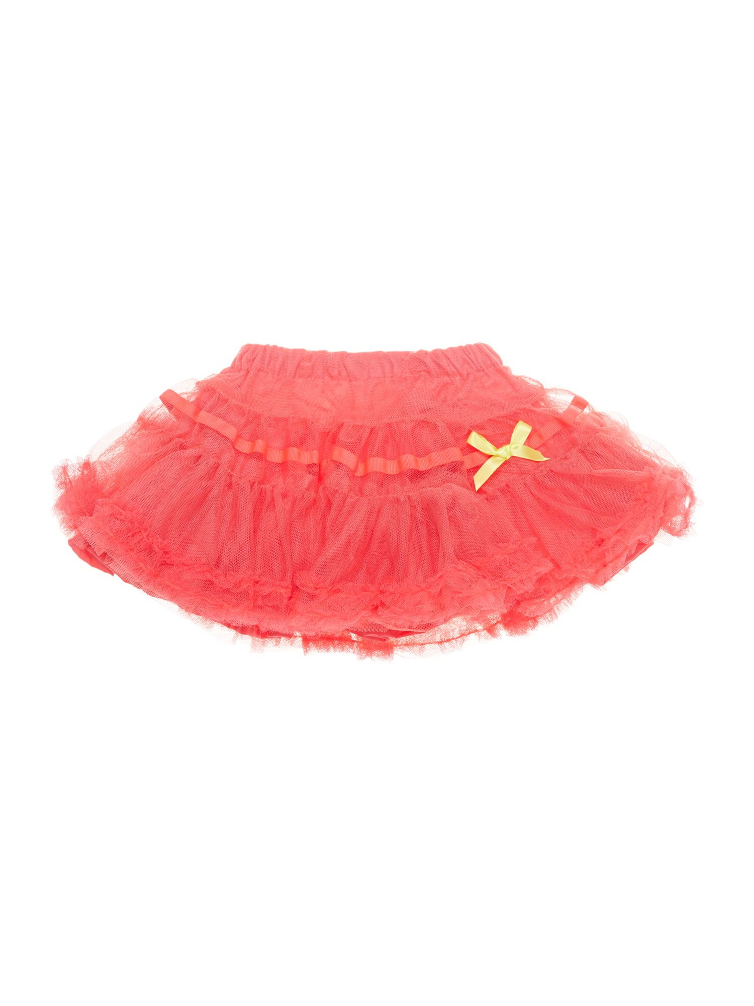 Girls tulle bow skirt