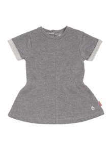 Girls sweat tunic dress