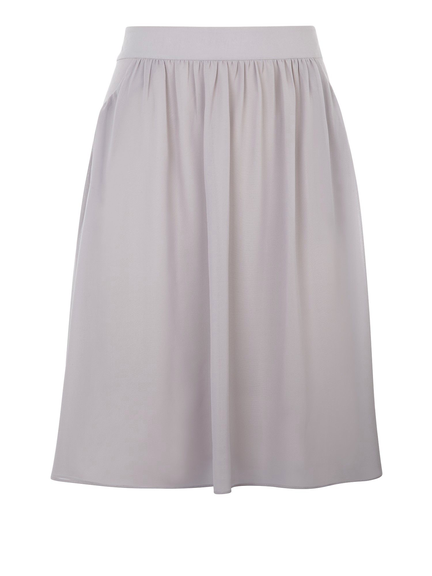 Soft pleat skirt