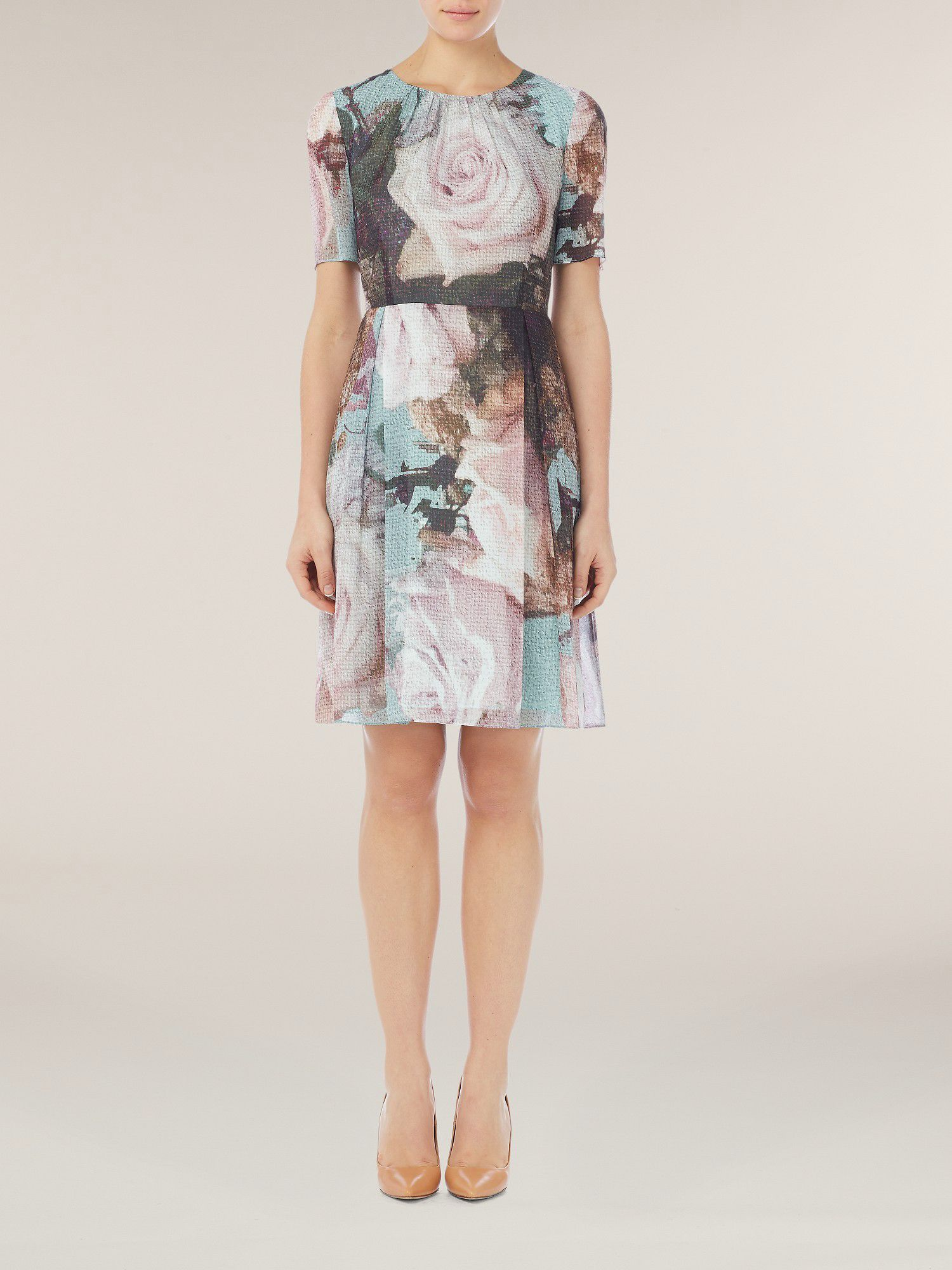 Canvas rose day dress