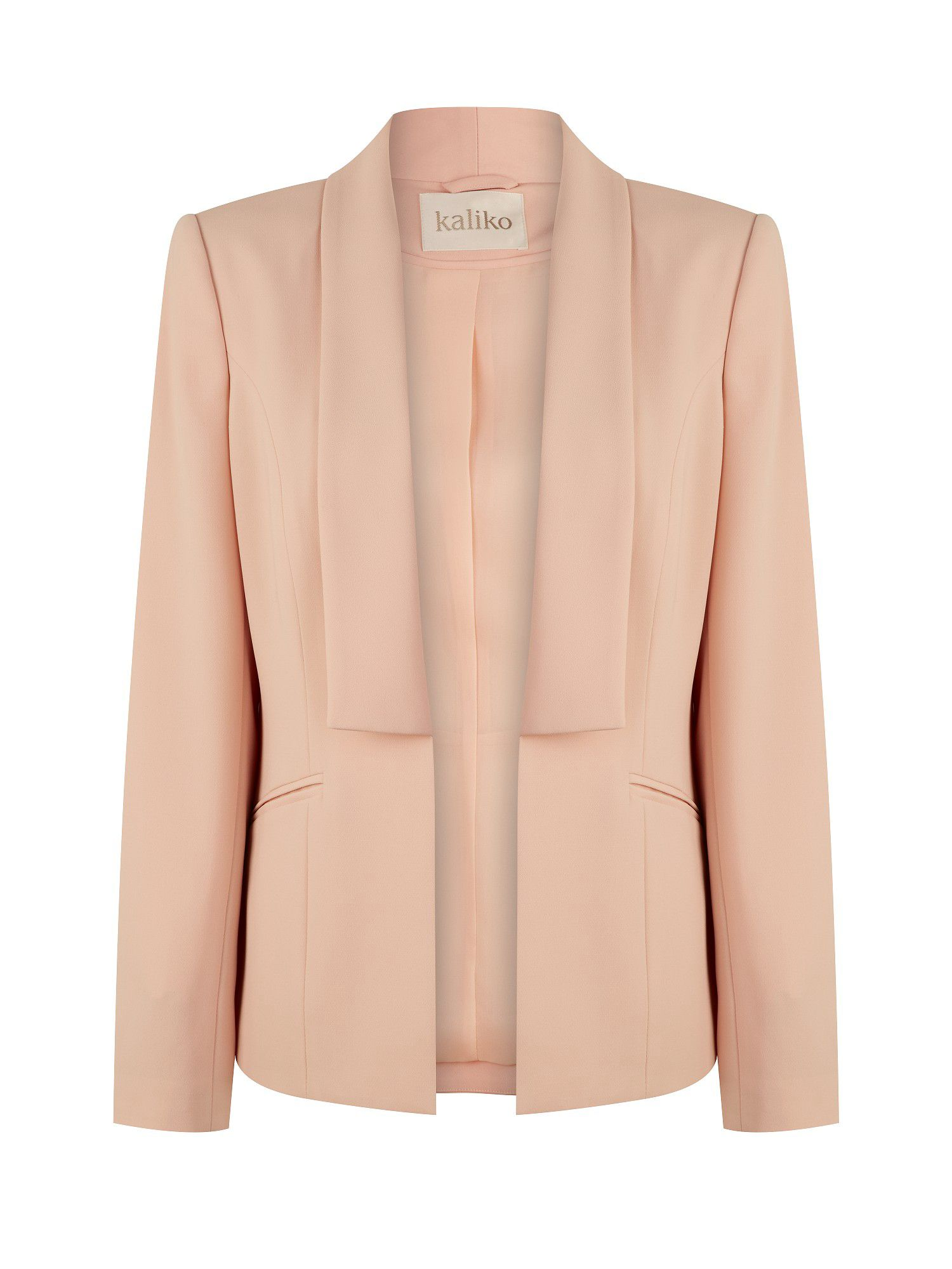 Soft waterfall blazer