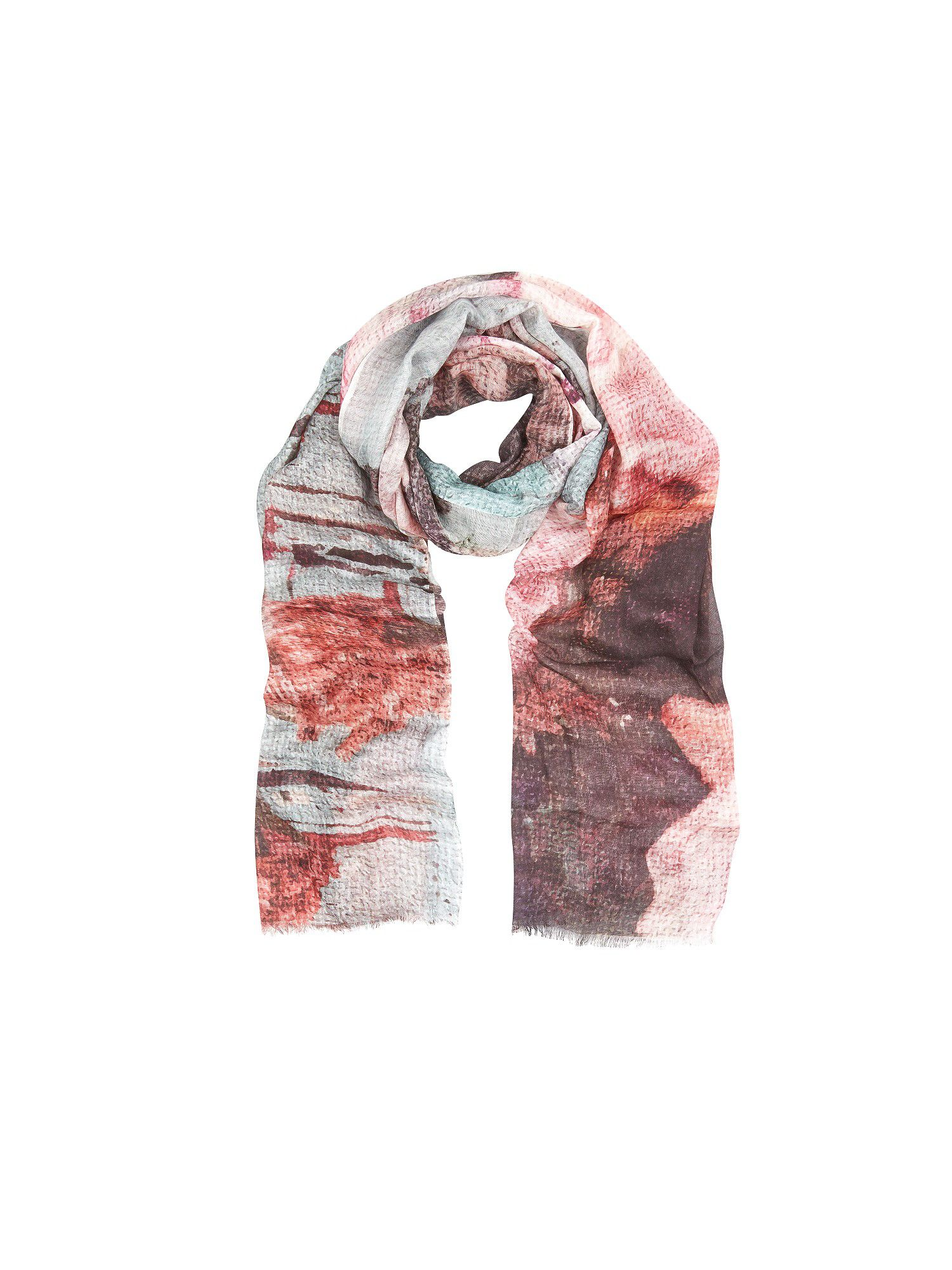 Canvas rose print scarf