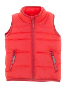 Girls gilet with pockets