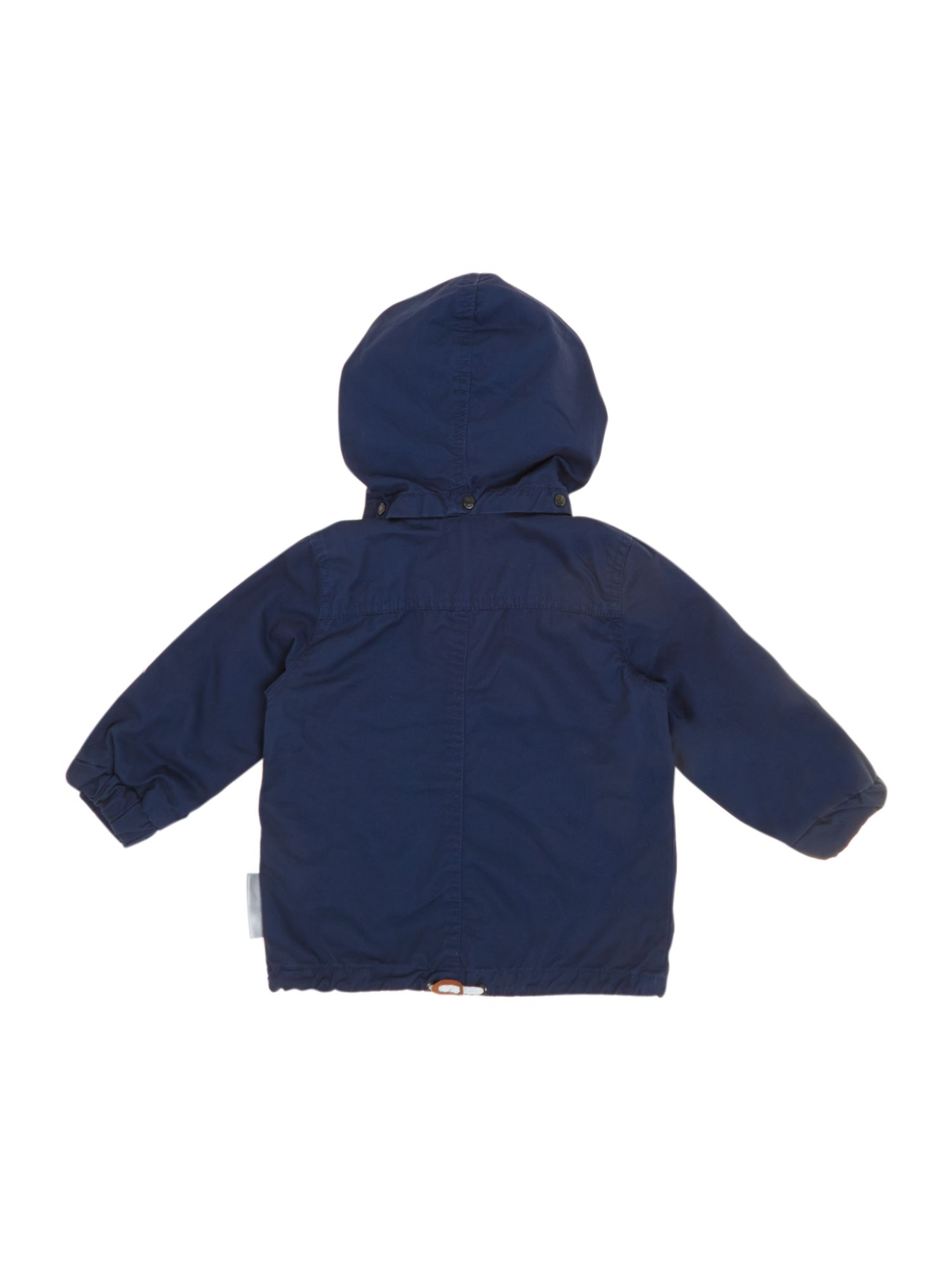 Boys casual jacket with detachable hood
