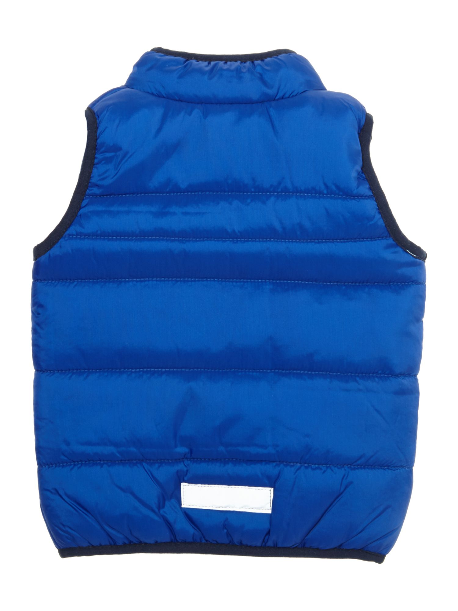 Boys gilet with pockets