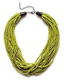 Tess bright horn necklace