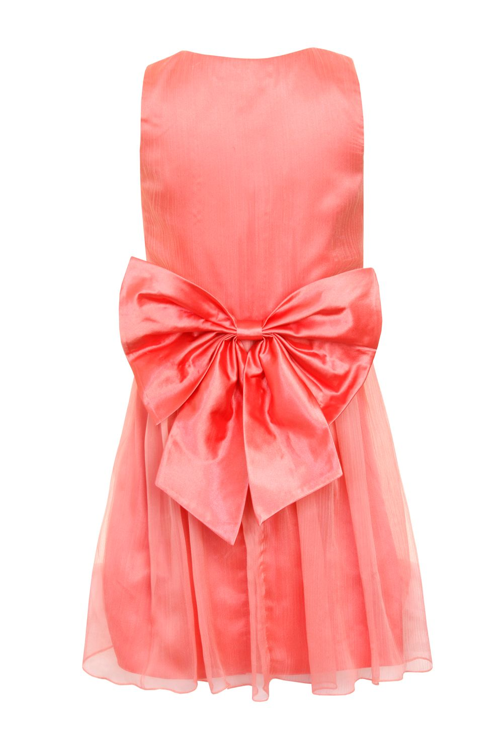 Girls corsage waist dress