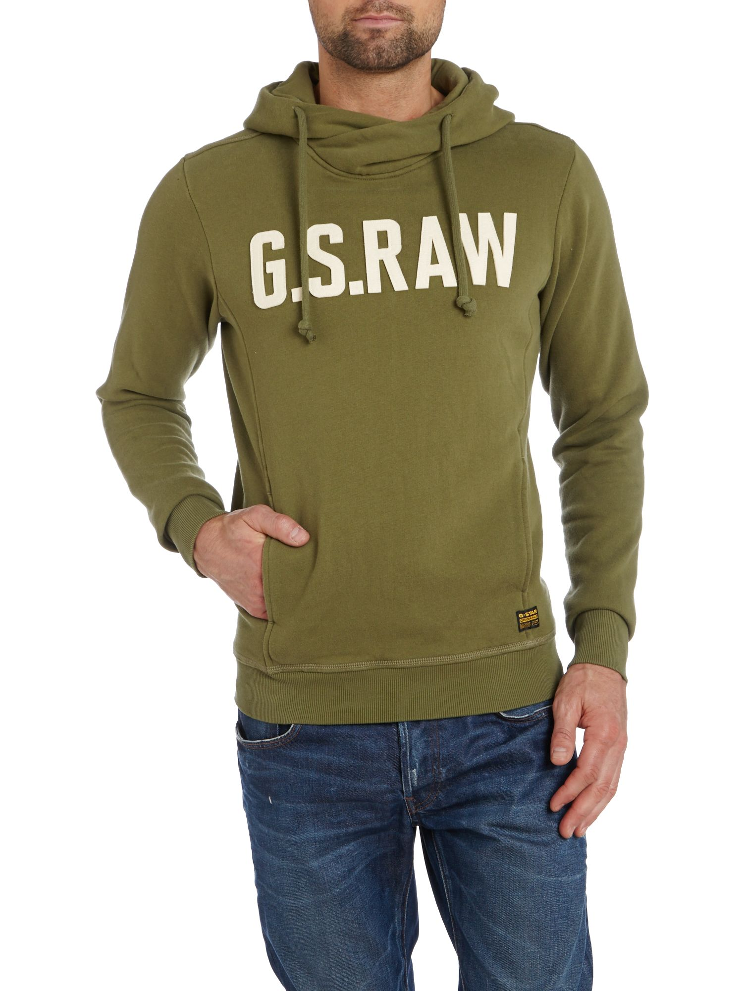 2009 g-star hooded sweatshirt