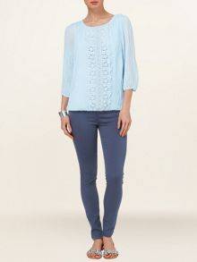 Juliet pleated blouse