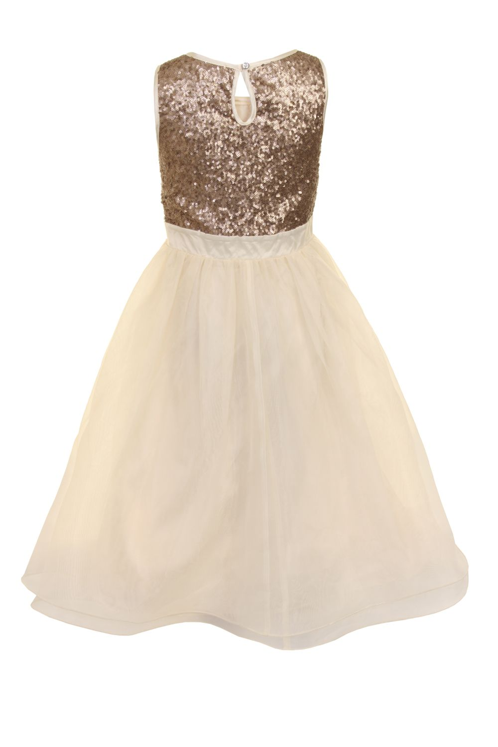 Girls bodice detail dress