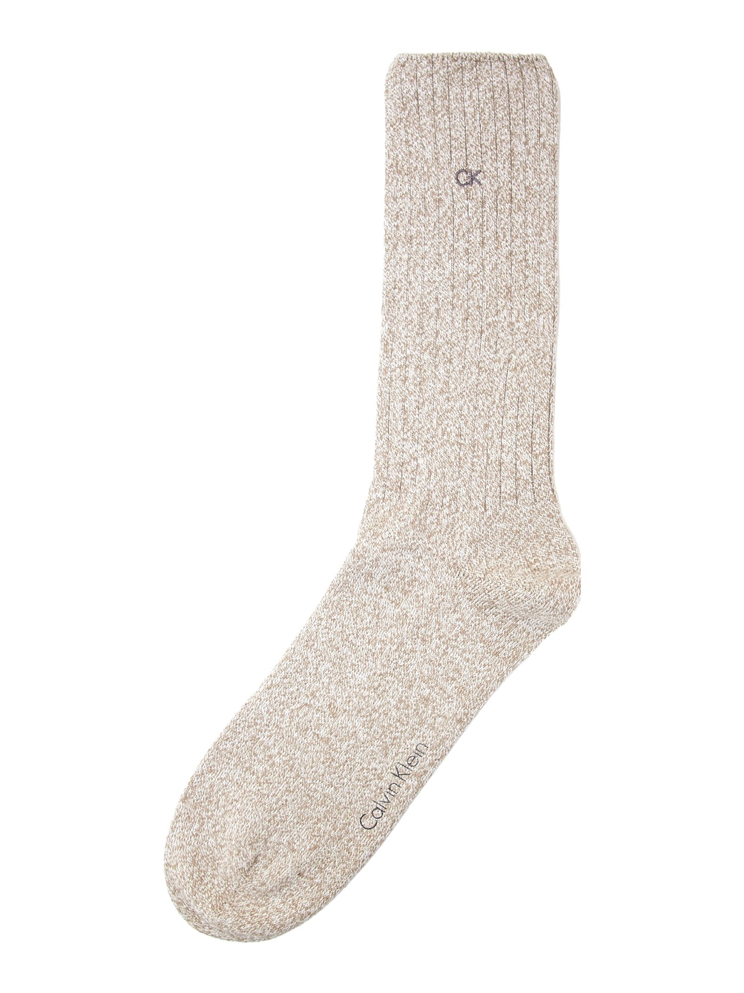 Essential ribbed sock