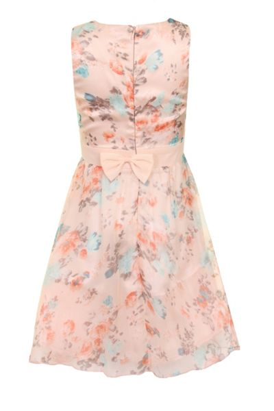 Little Misdress Girls floral dress