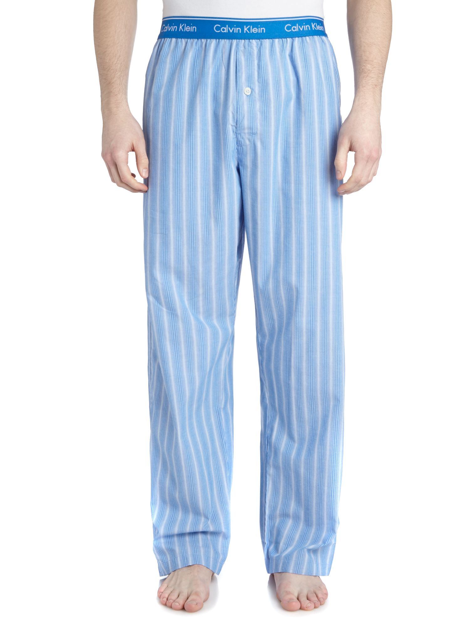 Optical stripe pant