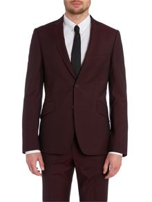 Linout slick rick extra slim solid suit jacket