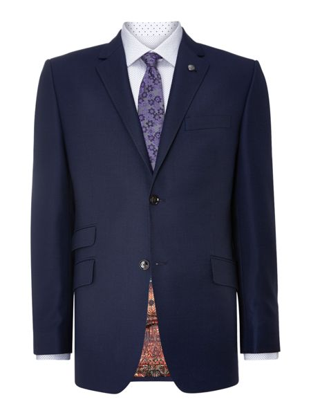 Ted Baker Foxdale Sterling Regular Fit Pindot Suit Jacket