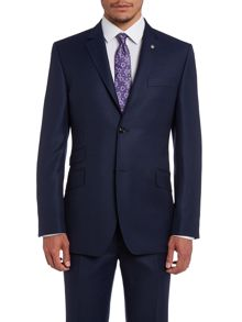 Foxdale Sterling Regular Fit Pindot Suit Jacket